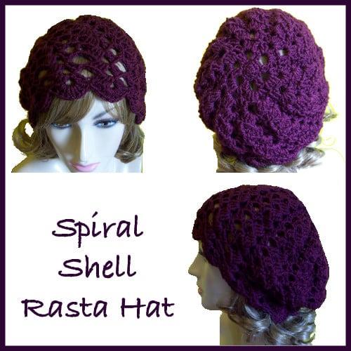 Spiral Shell Rasta Hat