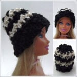 Striped Doll Beanie