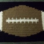 Tapestry Football Mat