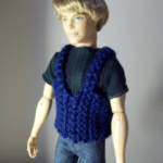 Fashion Doll Vest