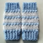 Baby Striped Legwarmers
