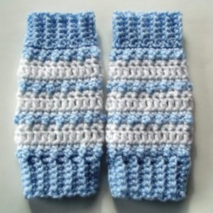 Baby Striped Leg Warmers