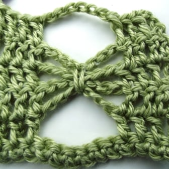 Crochet Butterfly Stitch Tutorial - Step 11