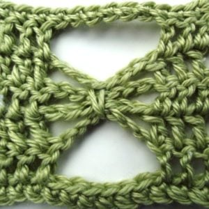 Crochet Butterfly Stitch Tutorial