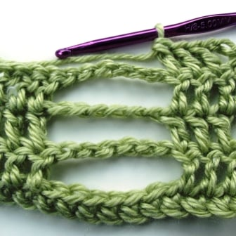 Crochet Butterfly Stitch Tutorial - Step 4.