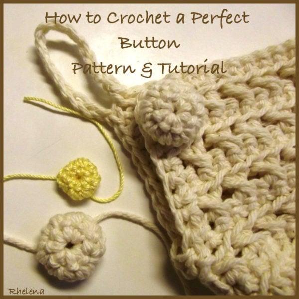 Crochet Button - Pattern & Tutorial