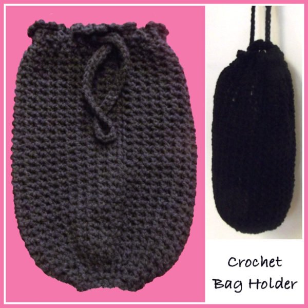 Crochet Bag Pattern Design : Crochet Grocery Bag Dispenser Pattern - Automatic Soap ...