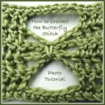Crochet Butterfly Stitch - Photo Tutorial