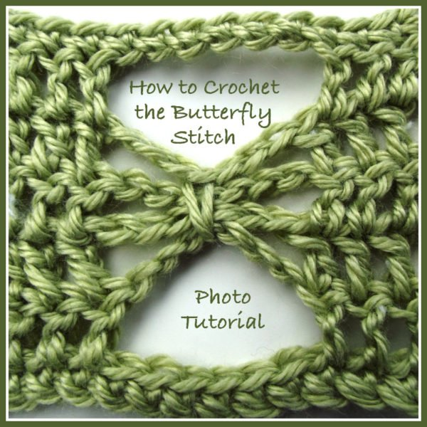 Crochet Butterfly Stitch - Photo Tutorial