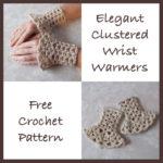 Elegant Clustered Wrist Warmers