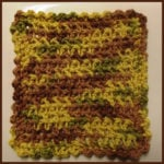 Esc Dishcloth - FREE Crochet Pattern