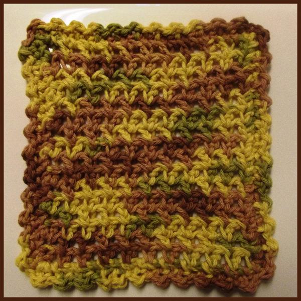 Esc Dishcloth - FREE Crochet Pattern