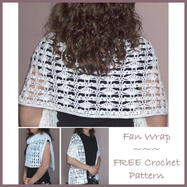 Fan Wrap - Free Crochet Pattern