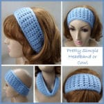 Pretty Simple Headband or Cowl