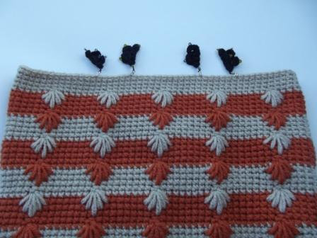 Puffy Spike Stitch Bag - 1