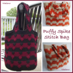 Puffy Spike Stitch Bag - Free Crochet Pattern