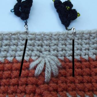 Puffy Spike Stitch Bag - 2