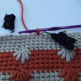 Puffy Spike Stitch Bag - 3