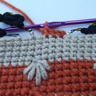 Puffy Spike Stitch Bag - 4