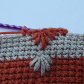 Puffy Spike Stitch Bag - 5