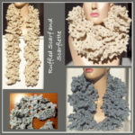 Ruffled Scarf and Scarflette - FREE Crochet Patterns
