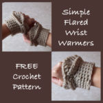 Simple Flared Wrist Warmers