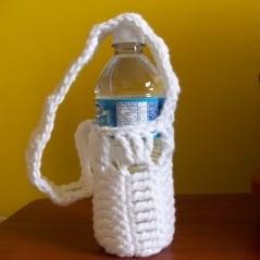 Water Bottle Holder - Free Crochet Pattern