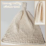 Bouncy Bubbly Kitchen Hand Towel