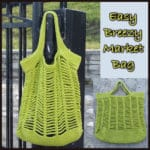 Easy Breezy Market Bag ~ FREE Crochet Pattern
