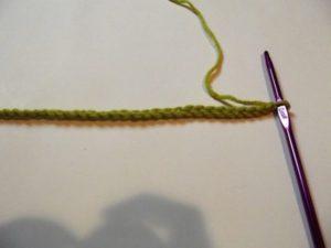 Interlocked Crochet - Step 1