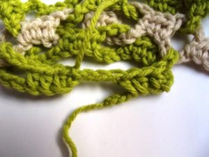 Interlocked Crochet - Step 10