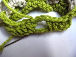 Interlocked Crochet - Step 11