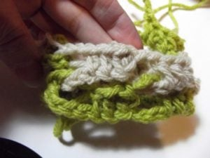 Interlocked Crochet - Step 13