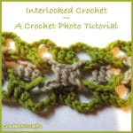 How to Crochet Interlocked Stitches