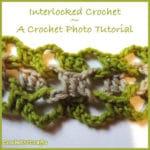 Interlocked Crochet - Photo Tutorial