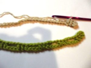 Interlocked Crochet - Step 4