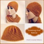 Crossing Over Beanie ~ FREE Crochet Pattern