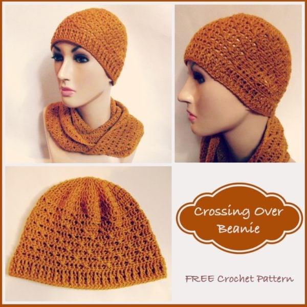 Crossing Over Beanie ~ FREE Crochet Pattern