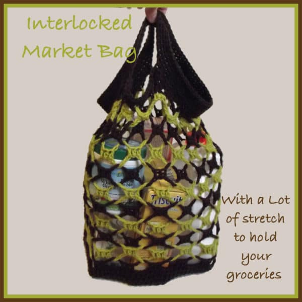 Interlocked Market Bag ~ Great for Boxes