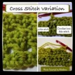 Cross Stitch Variation ~ Photo Tutorial