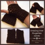 Crossing Over Fingerless Gloves by CrochetN'Crafts