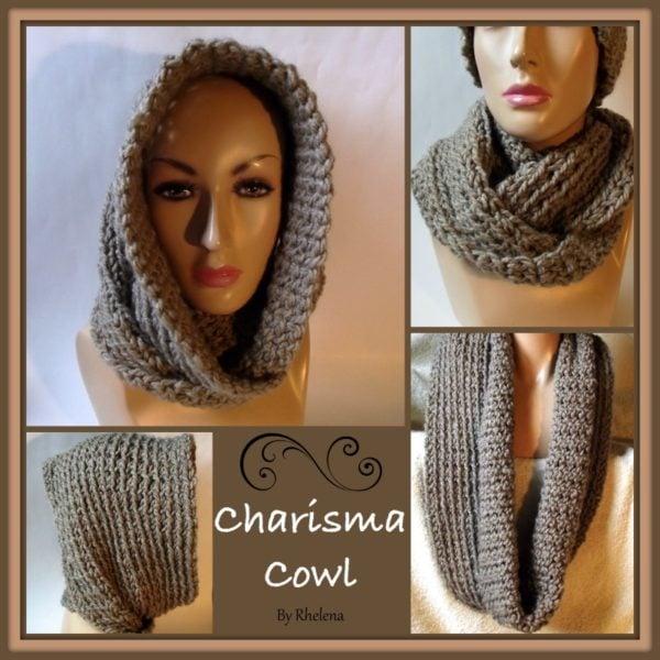 Charisma Cowl ~ FREE Crochet Pattern