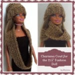 "Charisma Cowl for the 11.5"" Fashion Doll"
