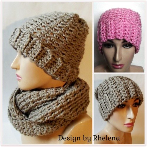 Charisma Slouchy Beanie ~ FREE Crochet Pattern