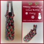 Happy Holidays Wine Bottle Carrier