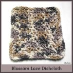 Blossom Lace Dishcloth