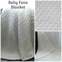 Baby Fans Blanket ~ FREE Crochet Pattern
