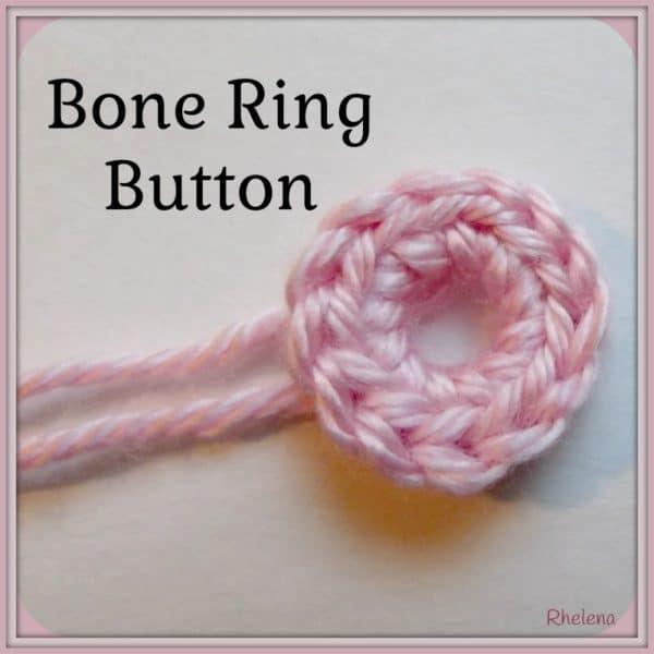 Bone Ring Button ~ FREE Crochet Pattern