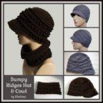 Bumpy Ridges Hat & Cowl