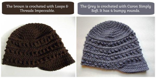 Bumpy Ridges Hat & Cowl - Two Sizes